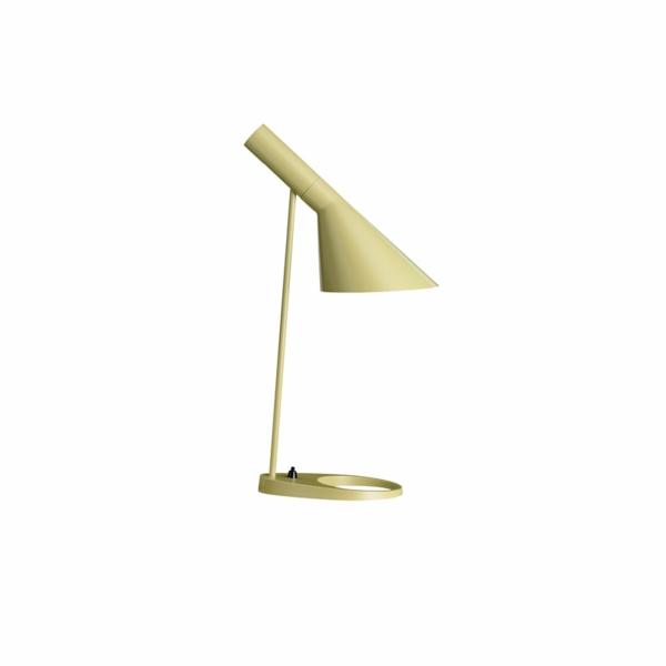 dänisches design möbel Arne Jacobsen aj lampe gelb