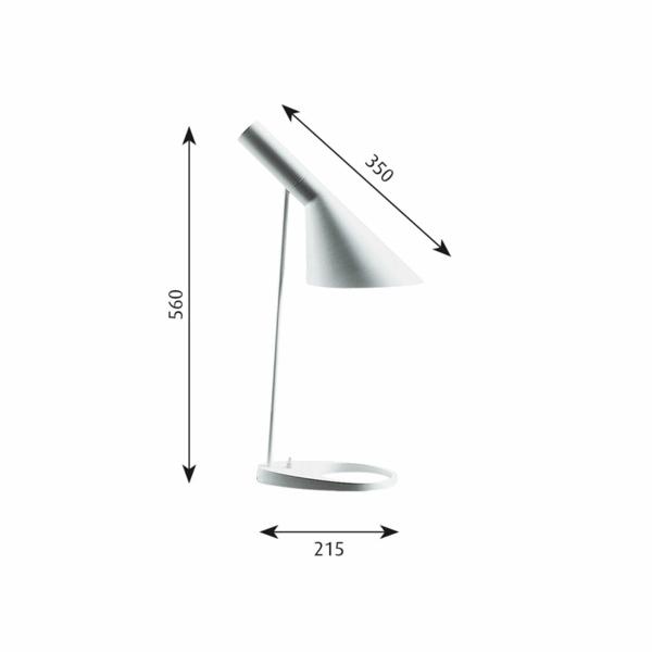 dänisches design möbel Arne Jacobsen aj lampe maßen