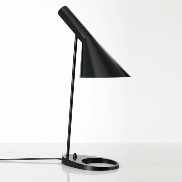 dänisches design möbel Arne Jacobsen aj lampe schwarz