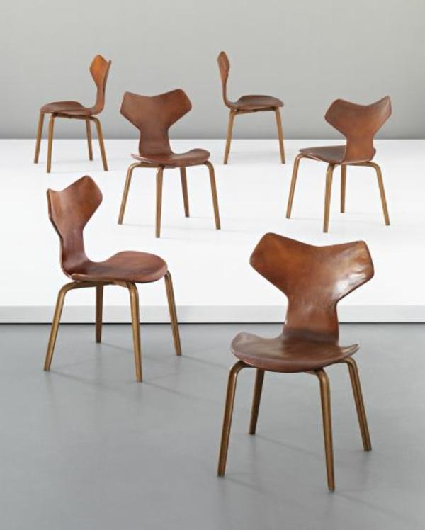dänisches design möbel Arne Jacobsen grand prix stühle