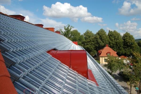 dach ziegel durchsichtig dach sonne energie