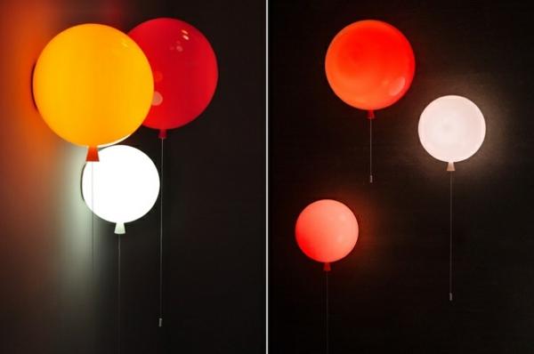 deckenleuchte helium ballon wandlampen