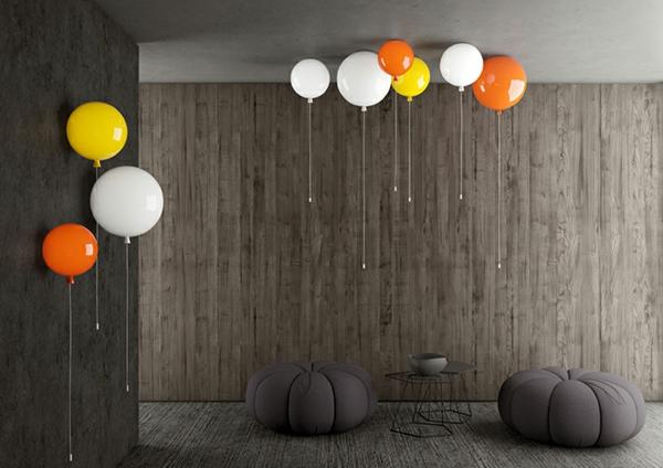 deckenlampe helium ballon wandleuchten