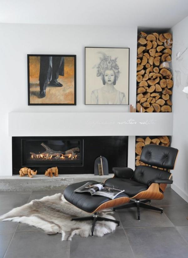 Der Charles Eames Lounge Chair Denkt An Ihren Komfort ...
