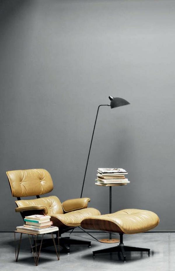 Designer Sessel Kaminbereich Zigarren Lounge