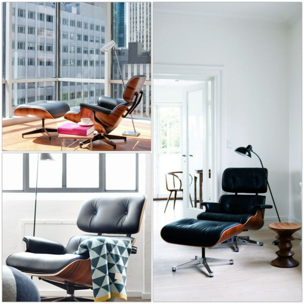 eames lounge stuhl holz. Black Bedroom Furniture Sets. Home Design Ideas