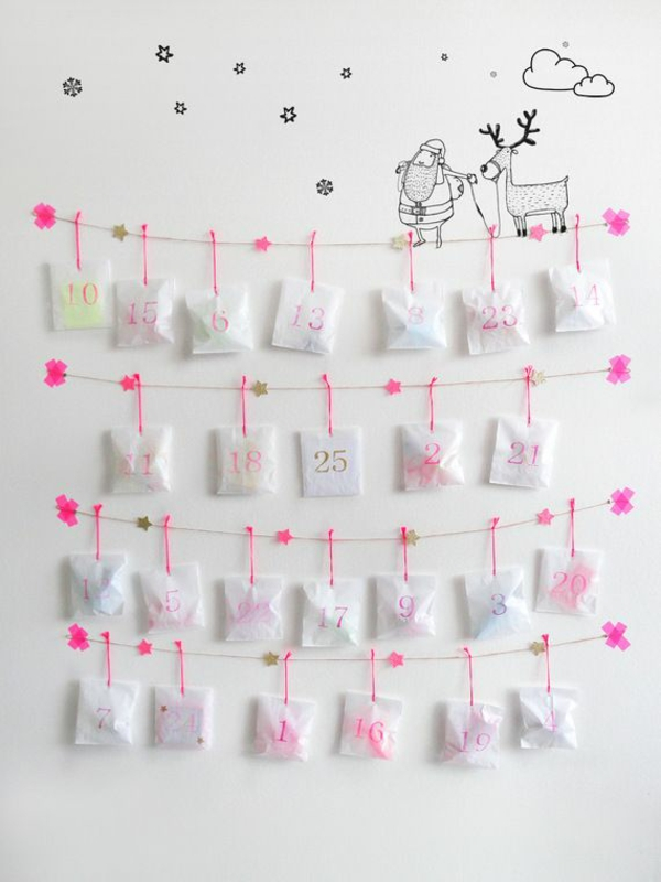 Image Result For Christmas Countdown Crafts Pinterest