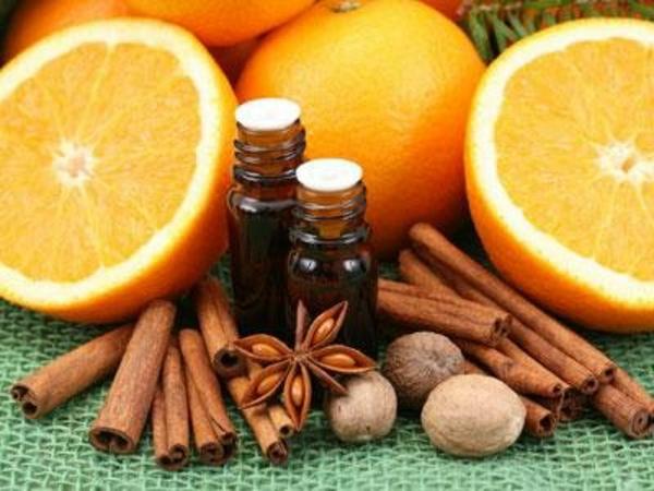 duftöle ätherische öle wirkung orange zimt