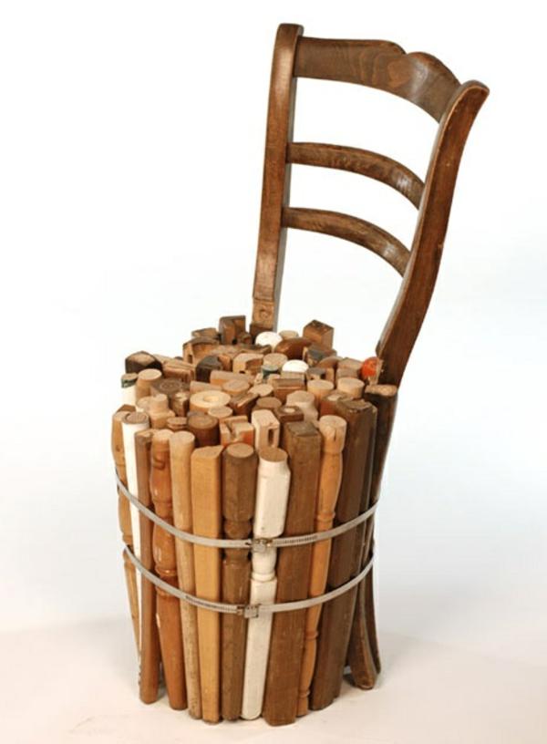 naturholzmöbel altholz stuhl