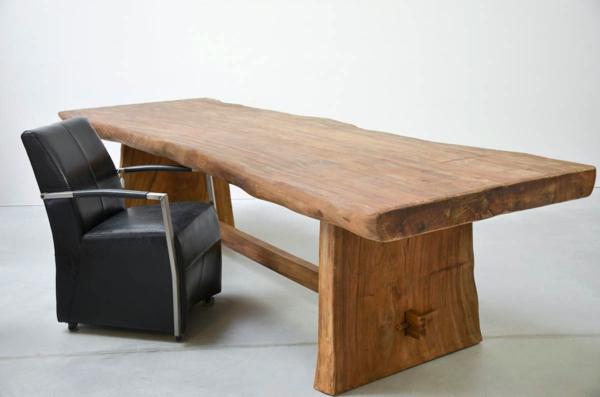 Echtholzm bel nachhaltig und praktisch sch n for Schreibtisch naturholz