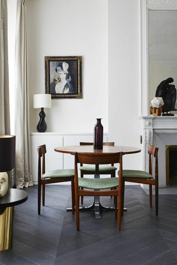echtholzmöbel esszimmer einrichten esstisch rustikal