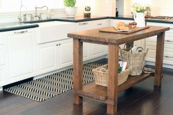 echtholzmöbel küchenregal raues holz