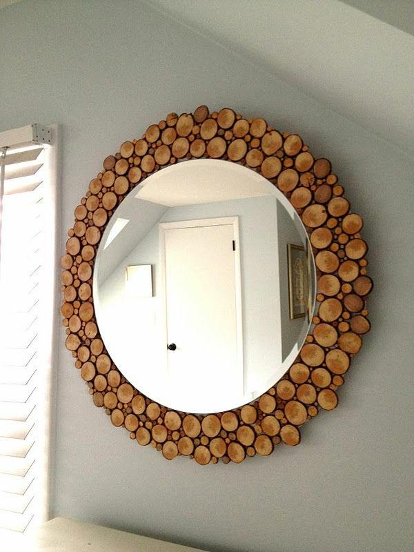 naturholzmöbel spiegel