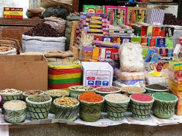 einkaufen ägypten ideen lokal gewürze