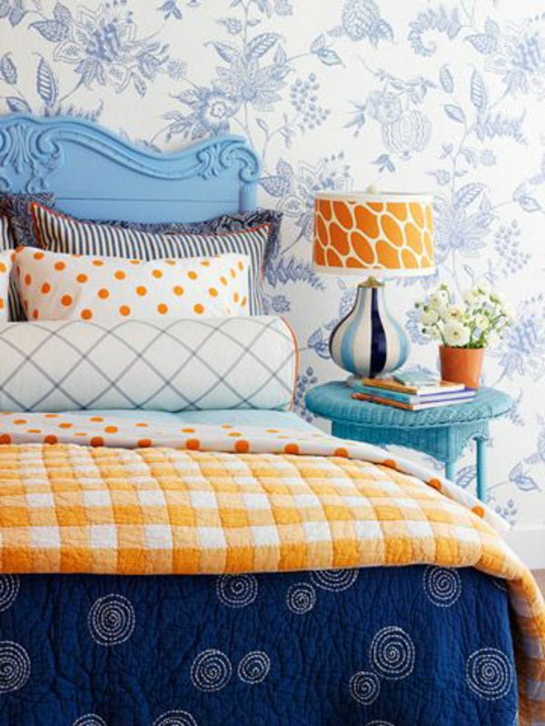 Wandgestaltung Mit Farbe Und Tapete : Photos – Aus Holz Blau Hintergrund Textur Farbe Tapete Bild Message