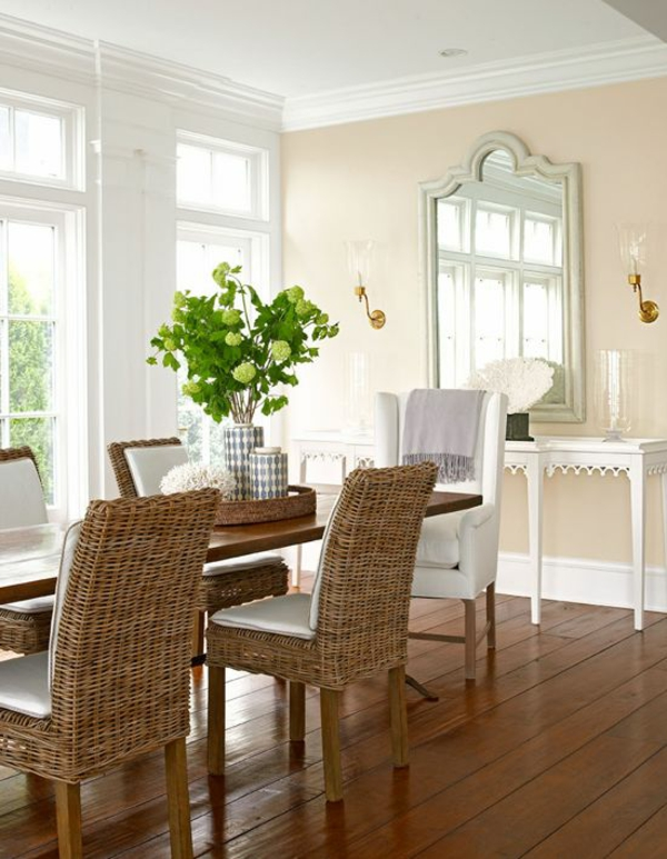 quadratisches wohnzimmer gestalten:Esszimmer landhausstil rustikal ...