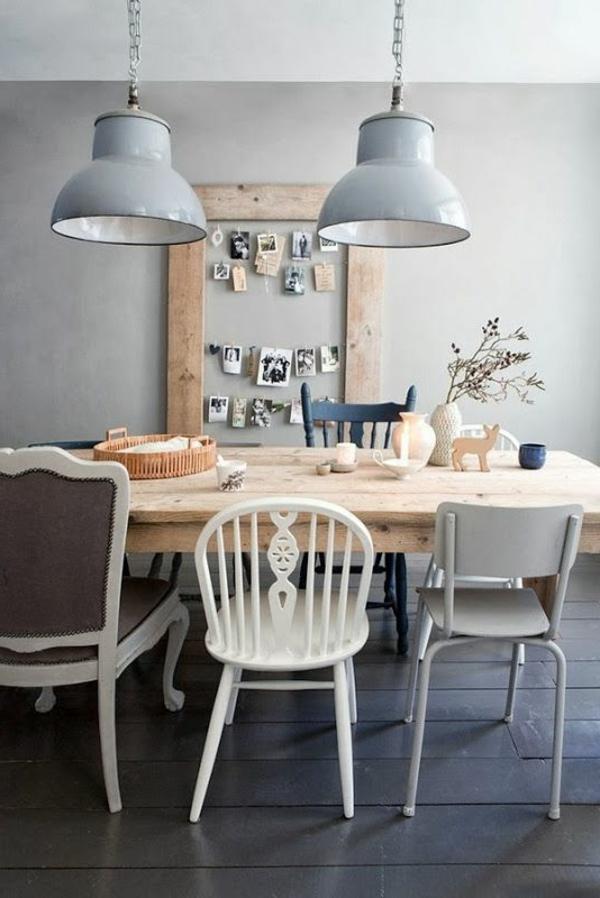 Esszimmerlampen tolle beispiele an h ngeleuchten und kronleuchtern - Esszimmerlampen modern ...