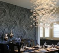 Esszimmerlampen – tolle Beispiele an Hängeleuchten und Kronleuchtern