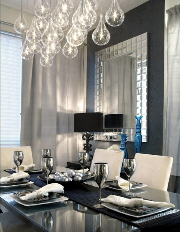 esszimmerlampen tolle beispiele an h ngeleuchten und kronleuchtern. Black Bedroom Furniture Sets. Home Design Ideas