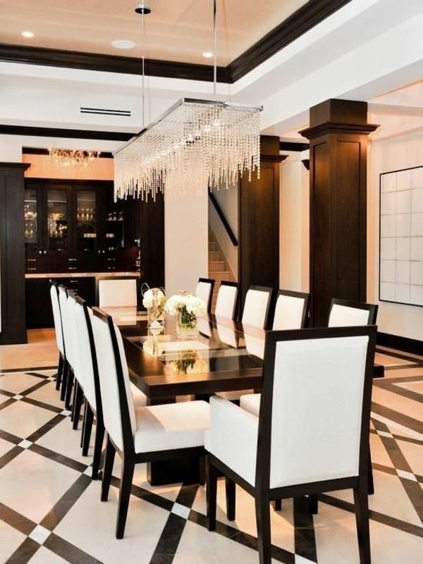Moderne luxus esszimmer  Esszimmerlampen Design - modern, traditionell oder ganz schlicht?