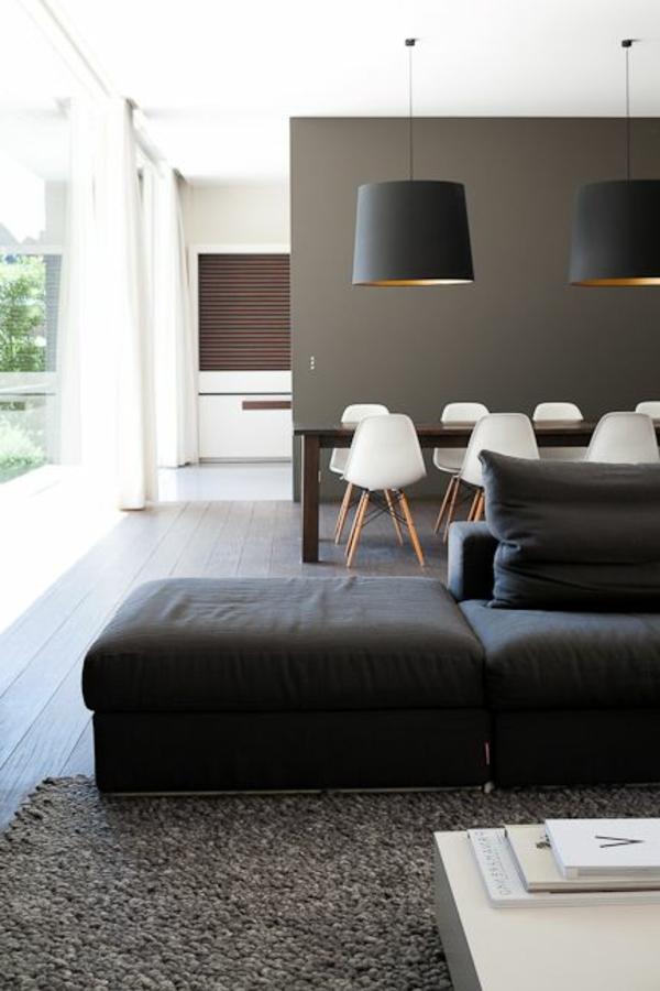 esszimmerleuchten minimalistisch schwarz