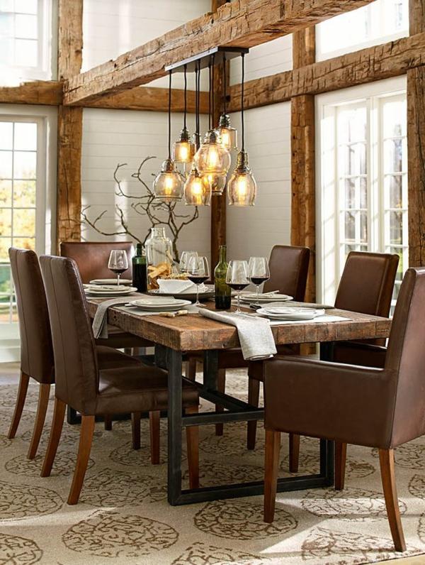 esszimmerlampen tolle beispiele an h ngeleuchten und. Black Bedroom Furniture Sets. Home Design Ideas