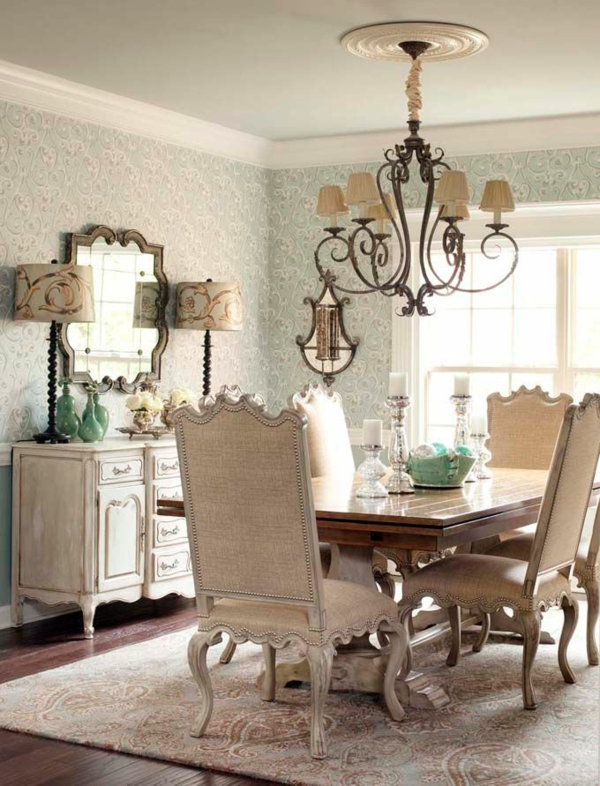 esszimmerlampen traditionell kronleuchter esszimmer möbel