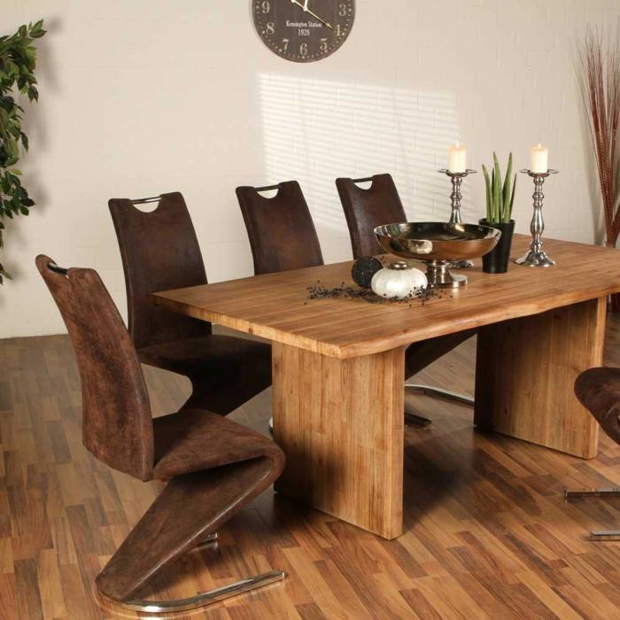 Esszimmerstühle modern braun  Freischwinger Stühle bieten hohen Sitzkofort