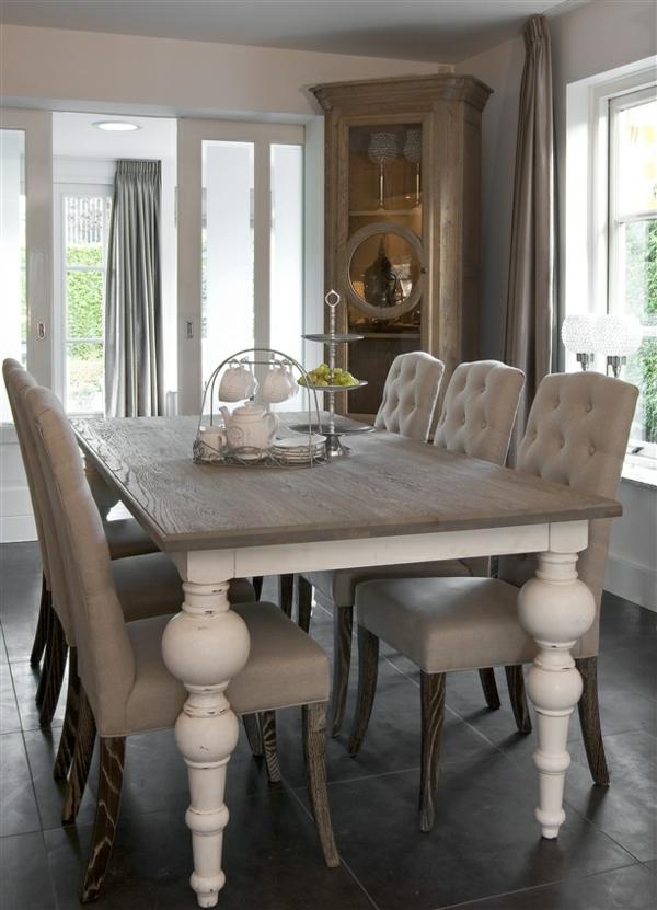 esszimmertisch mit stühlen rustikaler esstisch echtholz