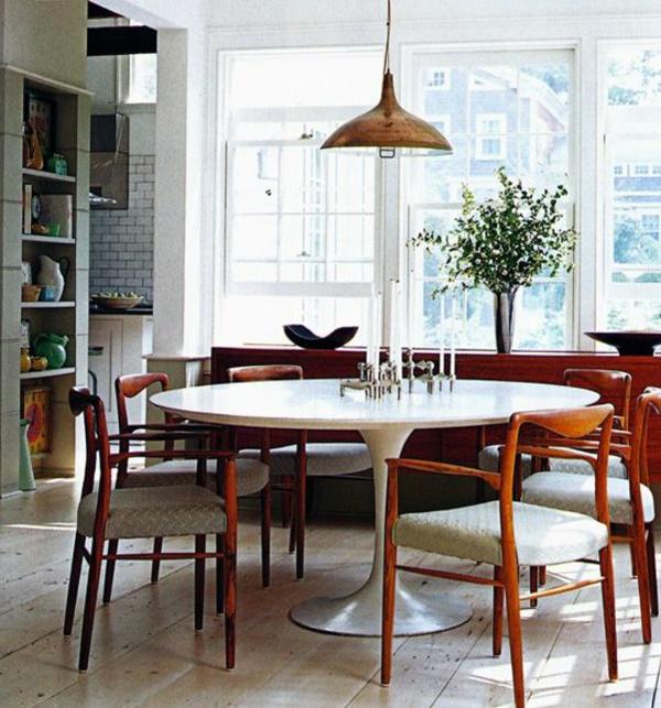 Esstisch Retro Design ~ Runde Esstische für Ihr Speisezimmer  treffen Sie die richtige Entscheidung