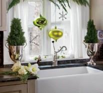 Fensterdeko für Weihnachten – wunderschöne dezente und tolle Beispiele