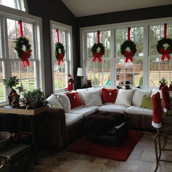 Kreative ideen f r eine festliche fensterdeko zu weihnachten for Fenster englisch