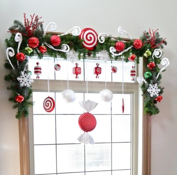 fensterdeko weihnachten kreative weihnachtsdeko fenster