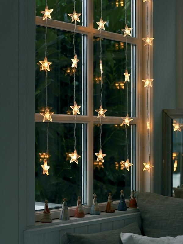 fensterdeko f r weihnachten wundersch ne dezente und. Black Bedroom Furniture Sets. Home Design Ideas