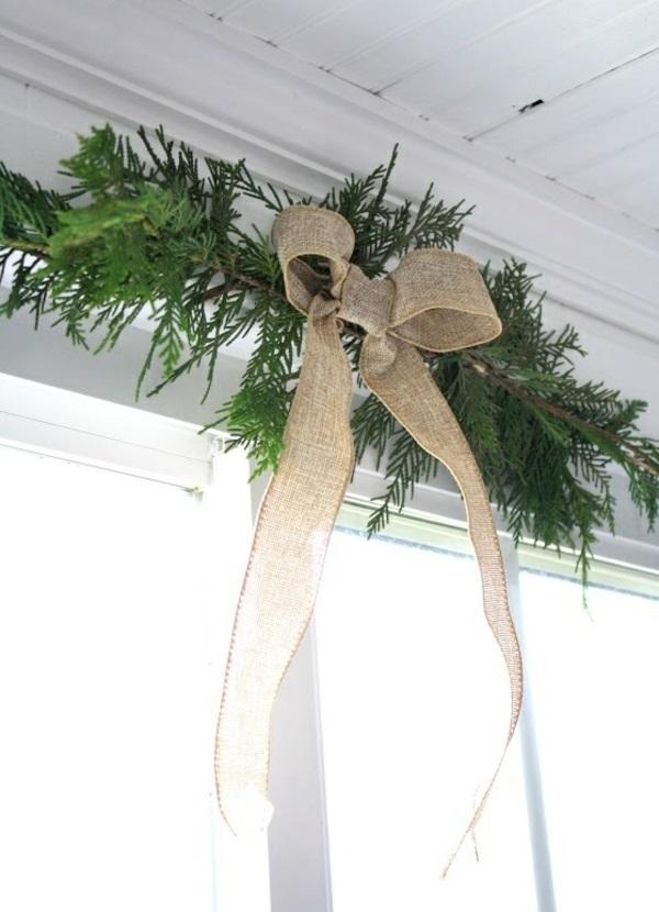 Kreative ideen f r eine festliche fensterdeko zu weihnachten for Deko topfpflanzen