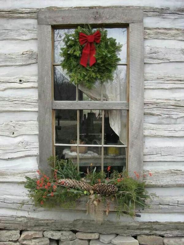 Kreative ideen f r eine festliche fensterdeko zu weihnachten - Fenster beschlagen von innen wohnung ...