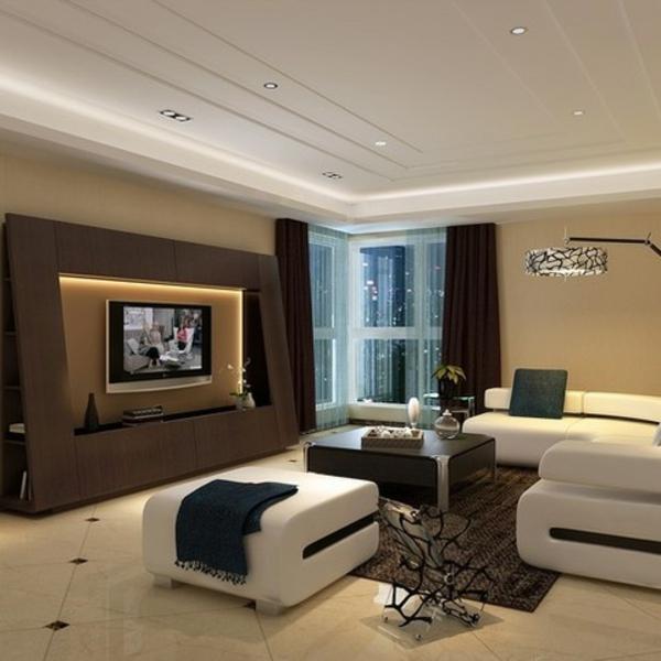 fernsehschränke indirekt wohnzimmer beleuchtung sessel