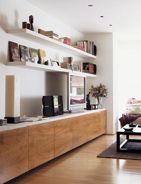 fernsehschränke bücher regale modern wohnzimmer