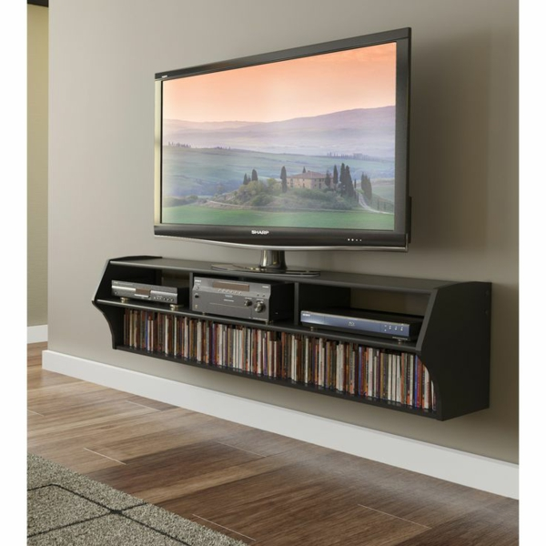 Fantastisch Fernsehschränke Regale Wohnwand