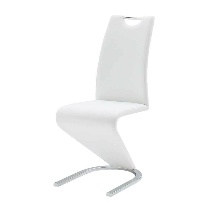 freischwinger stühle Designerstuhl Calingro in Weiс