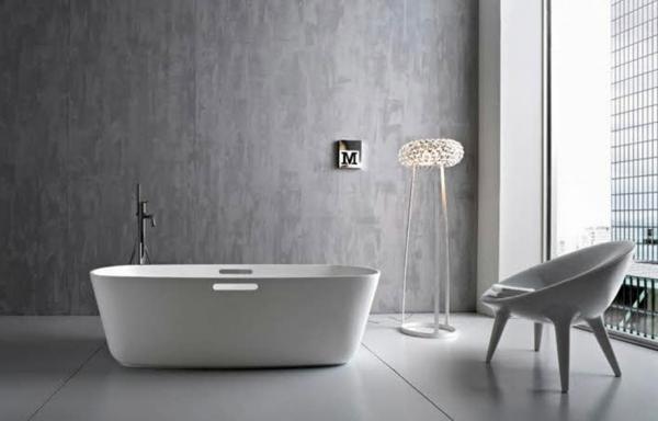 Freistehende Badewanne - Blickfang und Luxus im Badezimmer