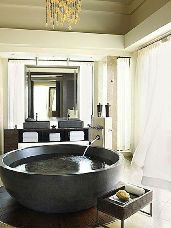 Freistehende Dusche Rund : Freistehende Badewanne ? Blickfang und Luxus im Badezimmer