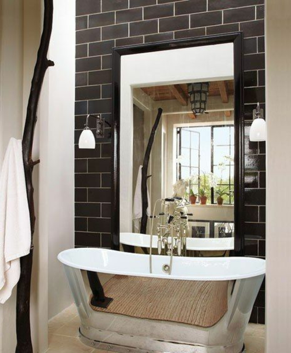 Awesome Freistehende Badewanne Raffinierten Look Pictures ...