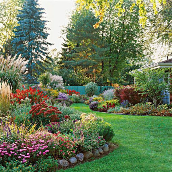 100 gartengestaltungsideen und gartentipps f r anf nger Better homes and gardens flower bed designs