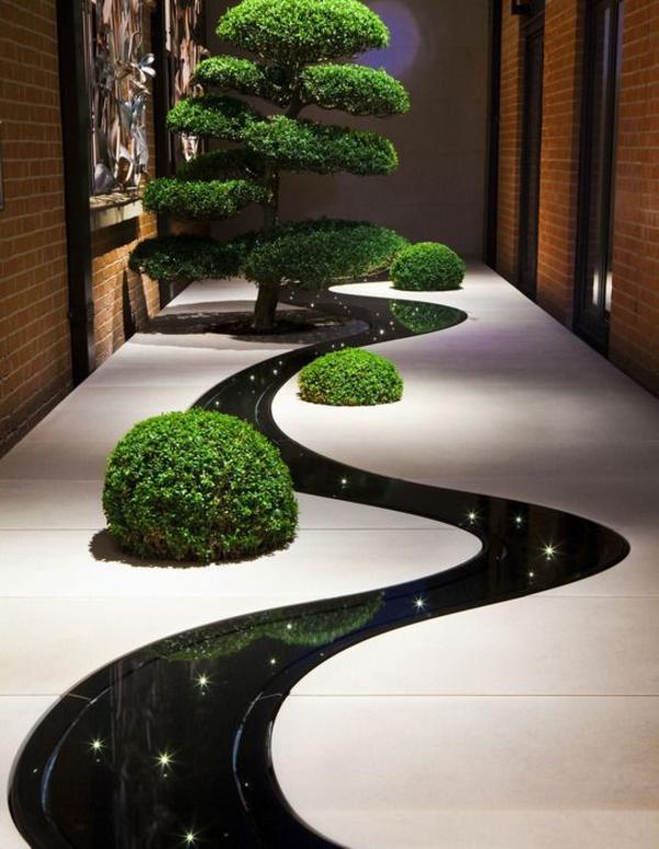 Garten Anlegen Ideen Gartengestalten Boden Beleuchtung