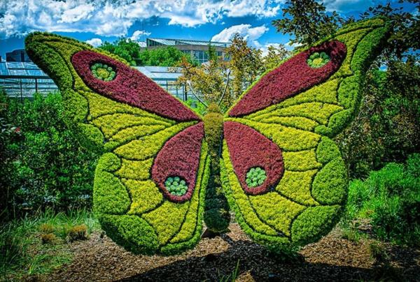 Gartenfiguren Aus Pflanzen Wunderliche Gartenkunst In Atlanta