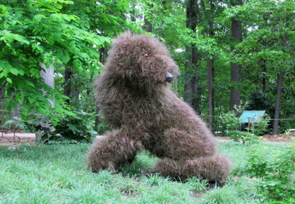 Gartenfiguren Aus Pflanzen - Wunderliche Gartenkunst In Atlanta Lebendige Skulpturen Im Garten Atlanta