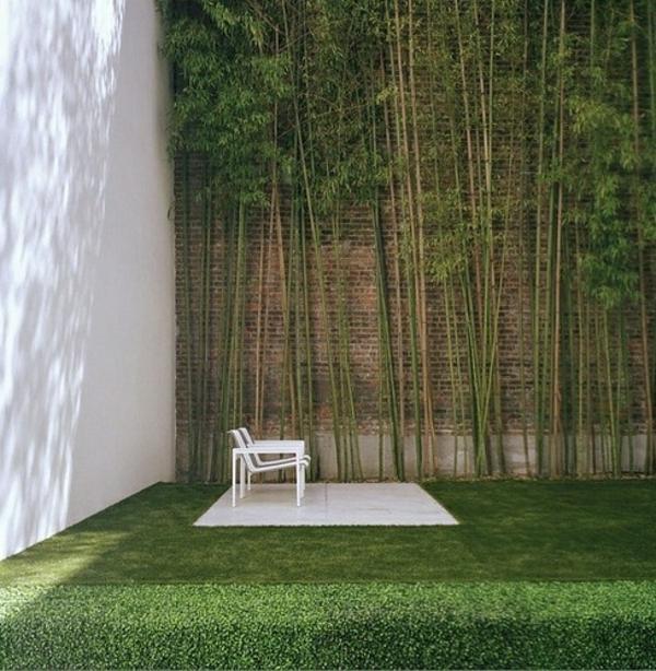 gartengestaltung beispiele gartengestaltung ideen mit steinen bambus