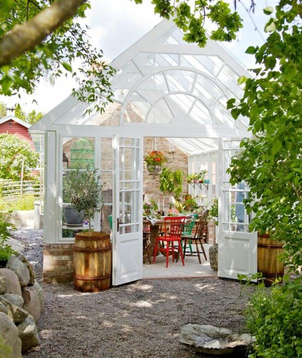 Wintergarten gestalten und pflegen kann das ihr neues hobby sein - Gartenhaus stockholm ...
