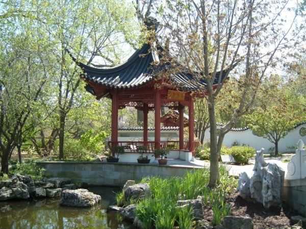 Gartenpavillon Holz Rechteckig ~ gartenpavillon holz fernöstlich